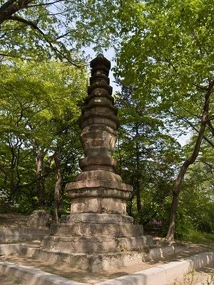 Stone pagoda in Changgyeong
