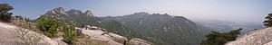 Wonhyobong Peak Panoramic photo