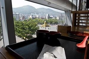 Lunch view from Busan Station