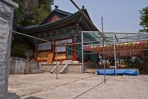 Heungbuam temple on Imho mountain