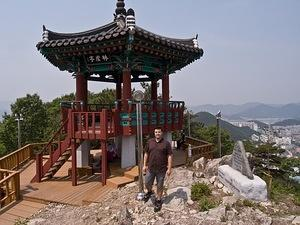 Chris at the top of Imhosan