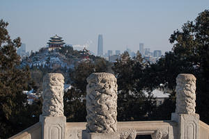 Jingshan Hill in the distance