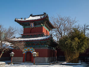 Zhihua drum tower