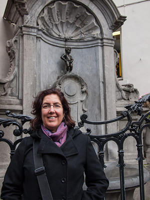 Anna and Manneken Pis