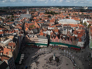 Brugge from the belfry