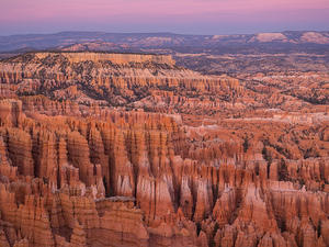 Hoodoo sunset glow