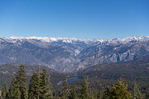 Hume Lake from Panoramic Point