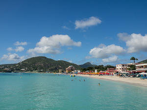 Philipsburg beach