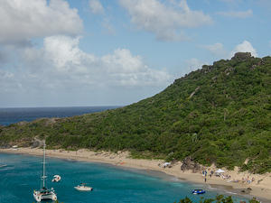 Anse de Colombier beach