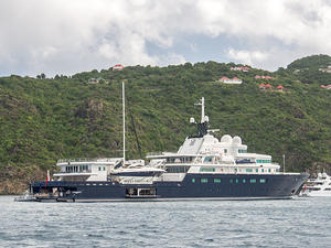 113 meter luxury yacht Le Grand Bleu