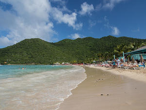 Beach at Anse Marcel