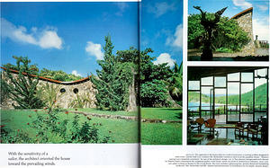 Rockefeller house in 1983 Architectural Digest
