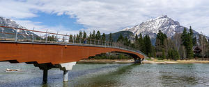 Banff Pedestrian Bridge