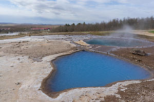Geothermal pools at Geysir