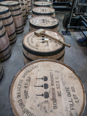 Woodford Reserve new barrels