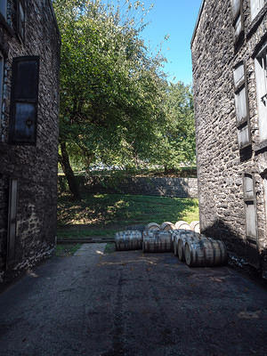 Woodford Reserve stone warehouses