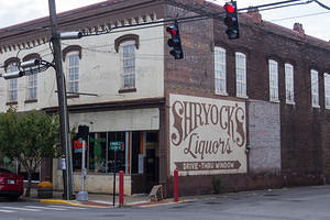 Shryock's Liquors - Drive Through Window
