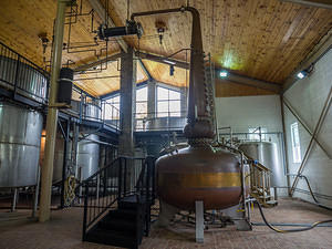 Willett Distillery monster pot still