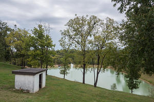 Green limestone waters at Willett Distillery