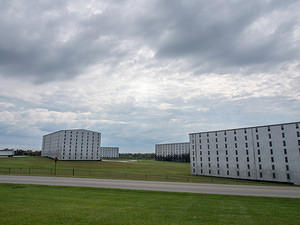 Bourbon prisons at Heaven Hill