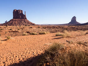 Monument Valley floor