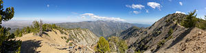 Mine Gulch, Mt San Antonio, Mount Baden-Powell saddle
