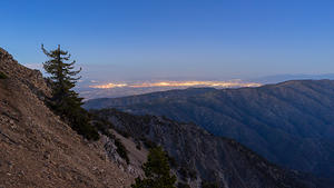 Victorville from Mt Baden-Powell