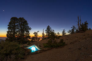 Mt Baden-Powell summit