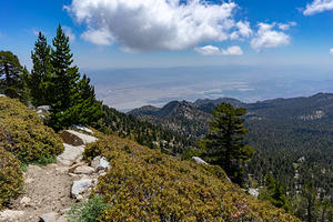 Palm Springs from Mt. San Jacinto Summit Trail