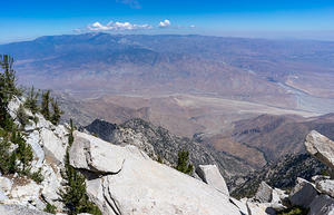 Looking north from Mt. San Jacinto