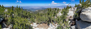 Looking west from Mt. San Jacinto summit