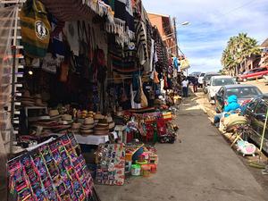 Shops along Puerto Nuevo