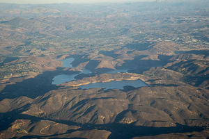 Olivehain dam & reservoir, Lake Hodges