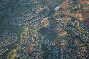 Escondido suburbs