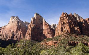 Three sisters - Zion