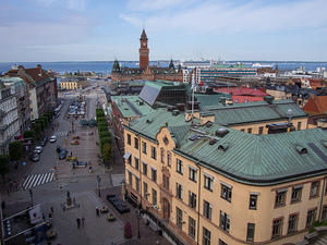Helsingborg from the gate