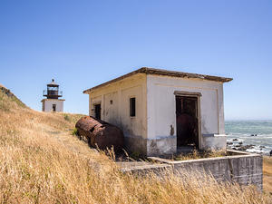 Fuel storage, Punta Gorda Lighthouse