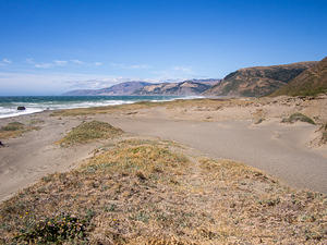 Dunes on the Lost Coast Trail