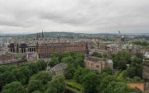West view from Edinburgh castle
