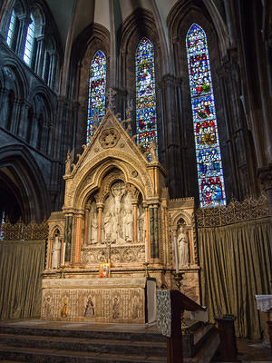 Altar at St Mary's Cathedral