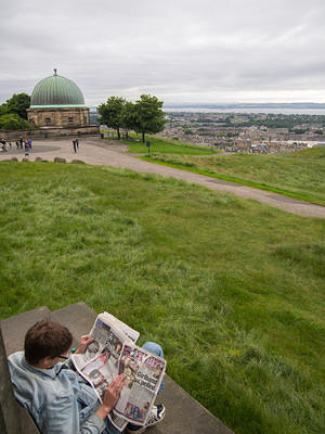 News on Calton Hill