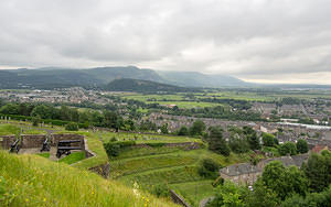 Overlooking the Wallace Monument