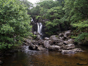 Waterfall at Loch Lomond