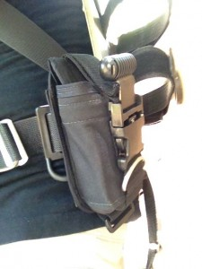 Backplate with DiveRite 16LB QB Weight Pocket