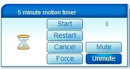 vera 5 minute motion timer