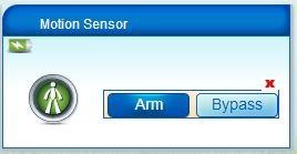 vera arm motion sensor