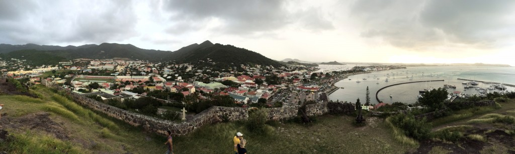 fort louis marigot panoramic