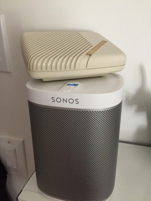 Sonos & White Noise machine